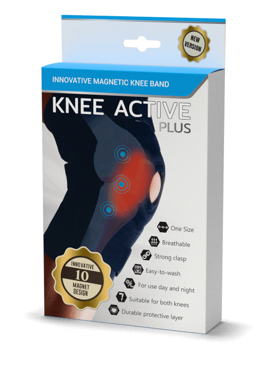 knee active plus mágneses stabilizátor